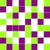 Mosaic Michelle green/violet/white 2 20х20