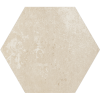 HEXAGON COTTO CREMA 26*26